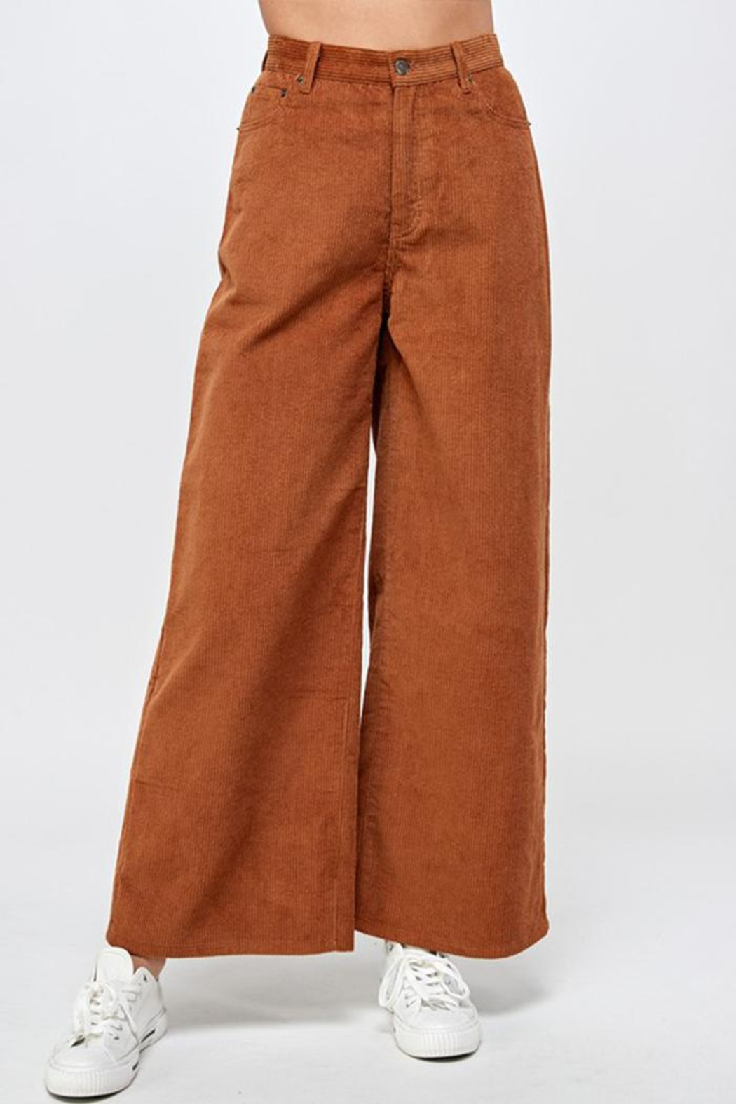 Signature 8 Corduroy Wide-Leg Pants - Main Image