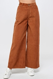 Signature 8 Corduroy Wide-Leg Pants - Front cropped