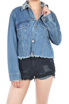 Shoptiques Product: Crop Denim Jacket