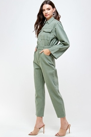 Signature 8 Denim Utility Jumpsuit - Side cropped