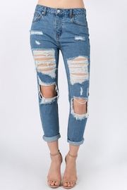 Signature 8 Distressed Jeans - Product Mini Image