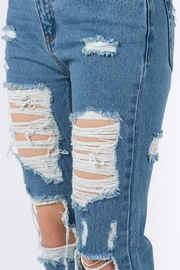 Signature 8 Distressed Jeans - Back cropped