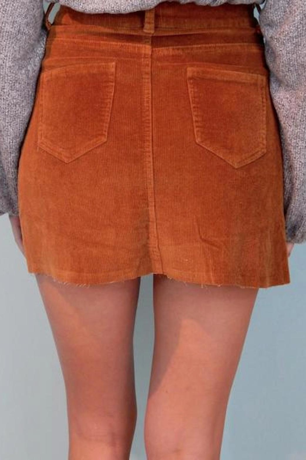 Signature 8 Dylan Cord Skirt - Front Full Image