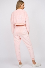 Signature 8 Fur Crop Pullover - Side cropped