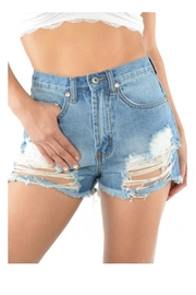 Signature 8 High Waisted Shorts - Product Mini Image