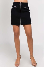 Signature 8 Moto Mini Skirt - Product Mini Image