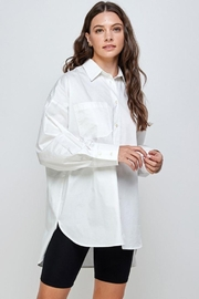Signature 8 Oversized Button Up Shirt - Product Mini Image