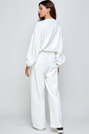 Signature 8 Oversized Loungewear Terry Top - Side cropped