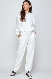 Signature 8 Oversized Loungewear Terry Top - Other