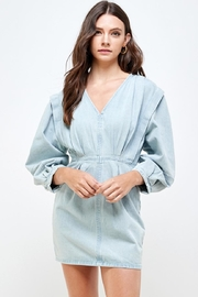 Signature 8 Oversized Shoulder Dress - Product Mini Image