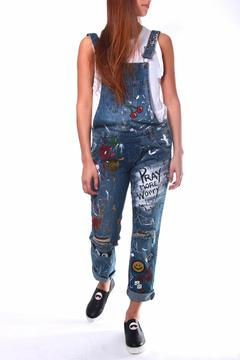 Shoptiques Product: Painted Denim Overall
