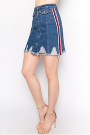Signature 8 Side Stripe Skirt - Front cropped