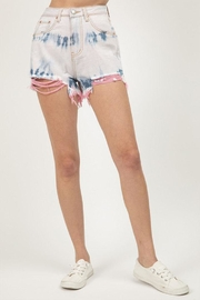 Signature 8 Tie-Dye Denim Shorts - Product Mini Image