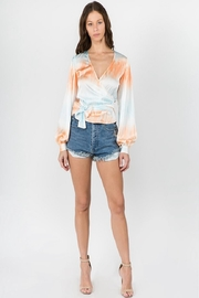 Signature 8 Tie Dye Top - Front full body