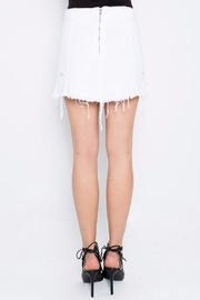 Signature 8 White Distressed Skirt - Side cropped