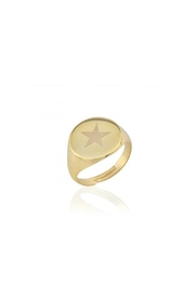 Maison Irem Signet Star Ring - Product Mini Image
