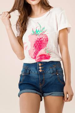 Shoptiques Product: Strawberry Ss Tee