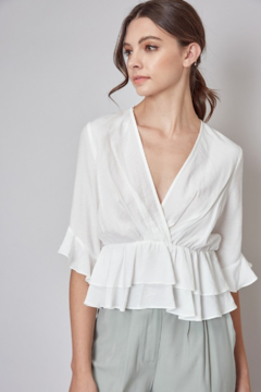 Do + Be  Sigrid Ruffle Top - Product List Image