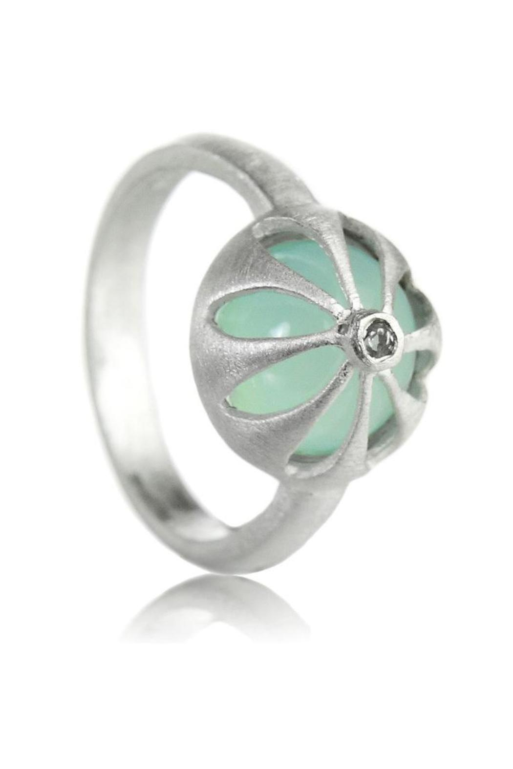 Sikara & Co. Arabesque Flower Ring - Front Cropped Image