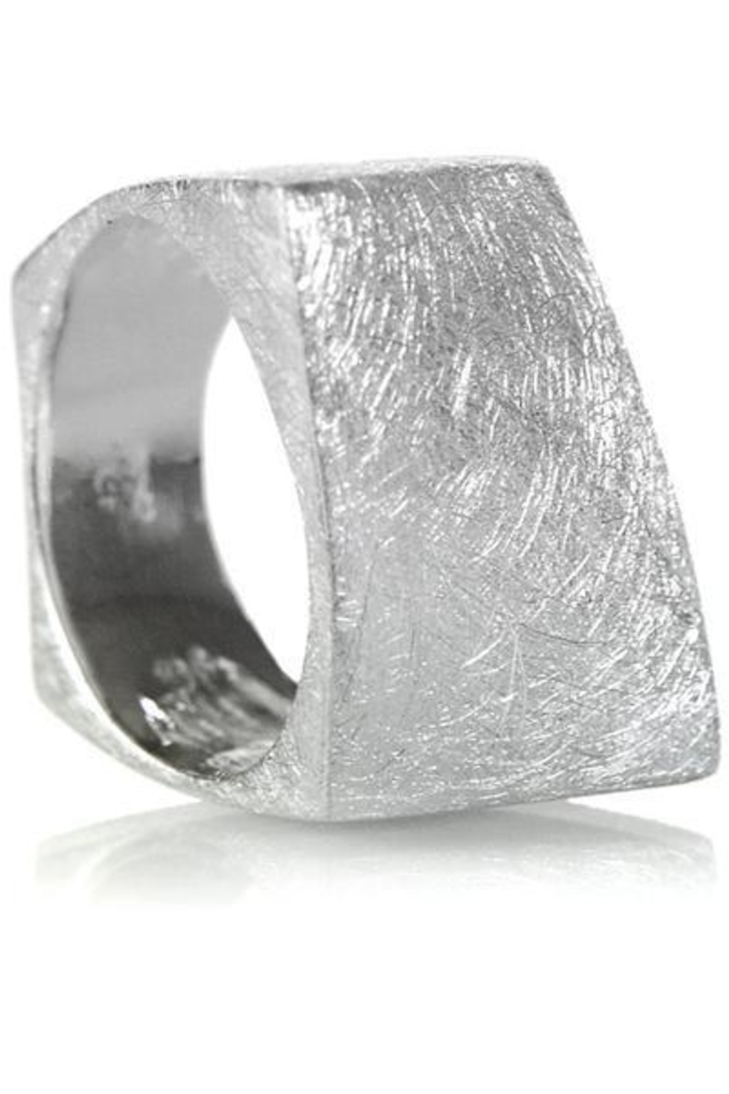 Sikara & Co. Bilbao Angular Rectangular Ring - Main Image