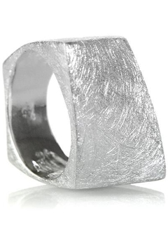 Sikara & Co. Bilbao Angular Rectangular Ring - Alternate List Image