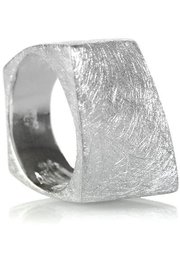Sikara & Co. Bilbao Angular Rectangular Ring - Product Mini Image