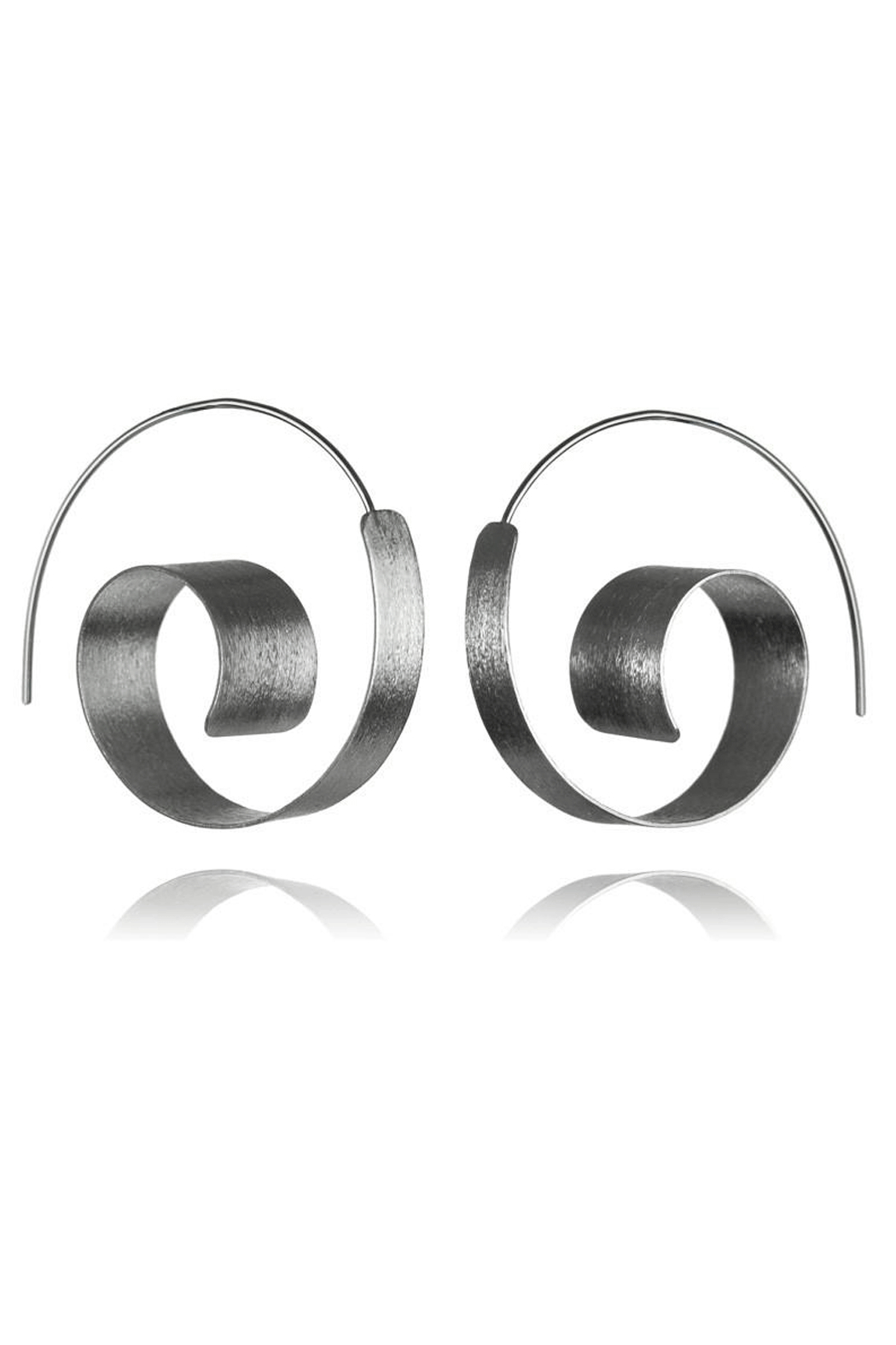 Sikara & Co. Bilbao Swirl Earrings - Front Full Image