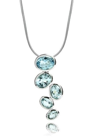 Sikara & Co. Brazilian Raindrop Pendant - Front cropped