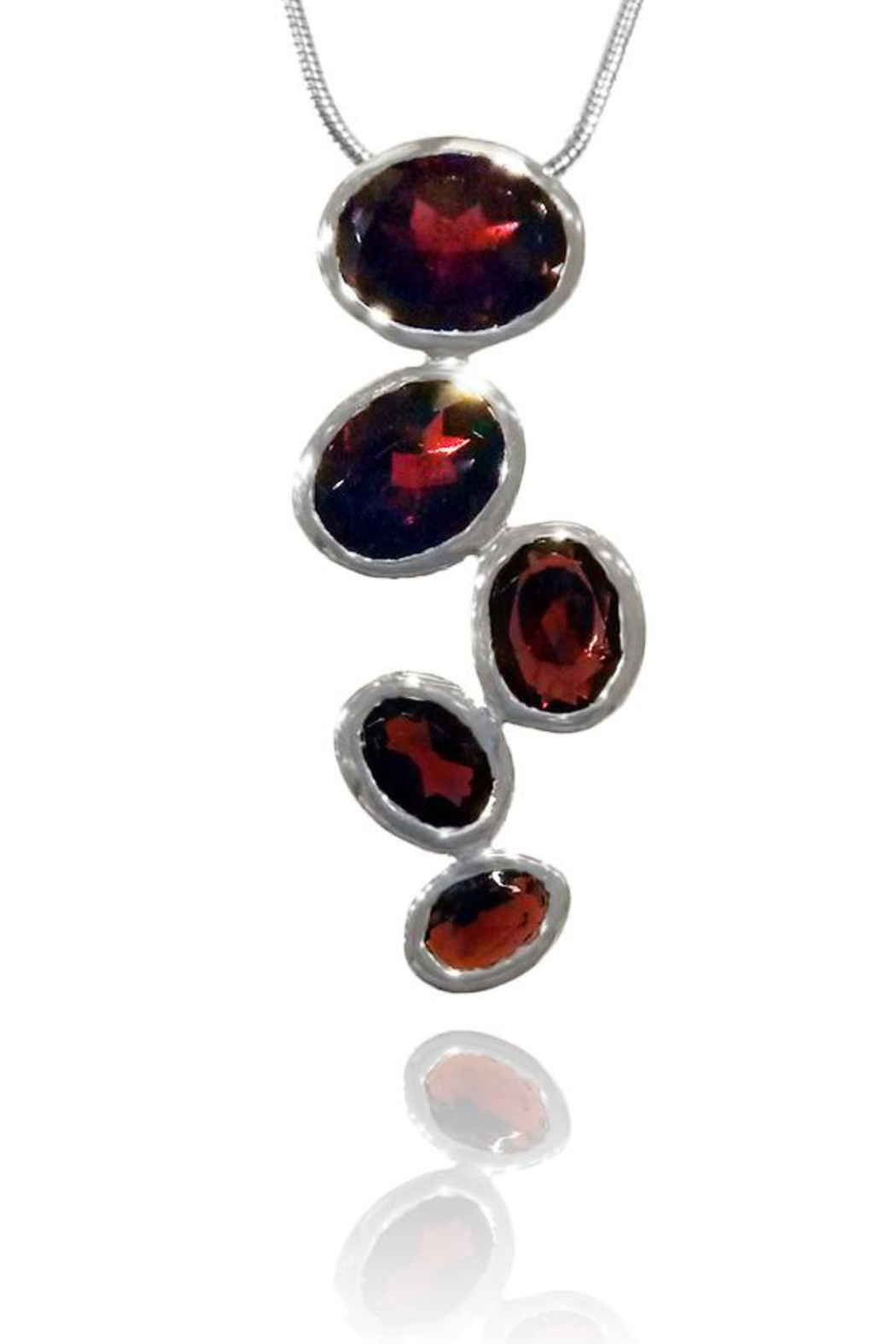 Sikara & Co. Brazilian Raindrop Pendant - Front Cropped Image