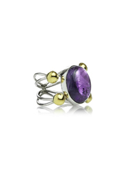 Sikara & Co. Conquistador Stone Ring - Front cropped