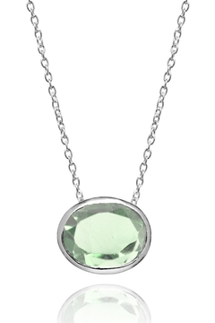 Sikara & Co. Floating Oval Pietra Necklace - Product List Image