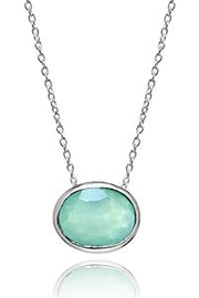 Sikara & Co. Floating Oval Pietra Necklace - Product Mini Image