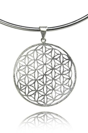 Sikara & Co. Flower of Life Disc Pendant - Product Mini Image