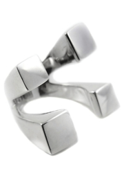 Sikara & Co. Gaudi Four Square Hugger Ring - Product Mini Image