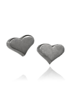 Sikara & Co. Heart Stud Earrings - Alternate List Image