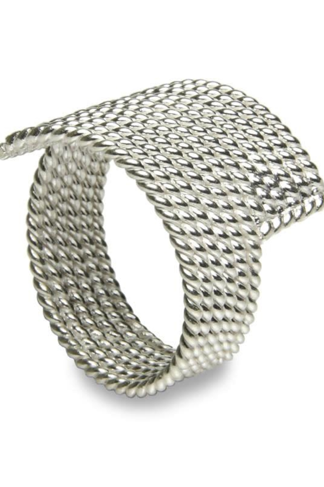 Sikara & Co. Milano Filo Wrap Ring - Front Cropped Image
