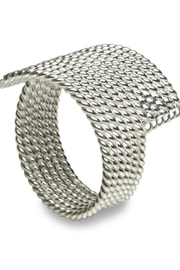 Sikara & Co. Milano Filo Wrap Ring - Front cropped