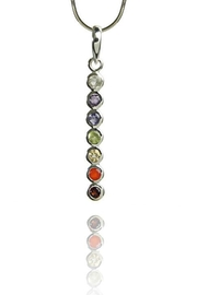 Sikara & Co. Seven Chakra Pendant - Product Mini Image