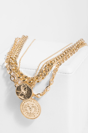 Saachi Sikka Coin Layered Necklace - Product Mini Image