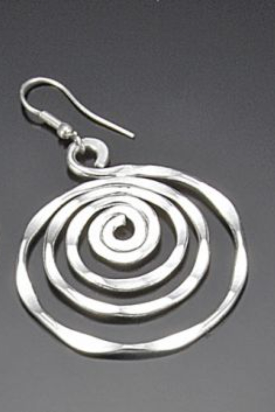 Anju Handcrafted Artisan Jewelry SIL PLATED ER CIRCLE - Main Image