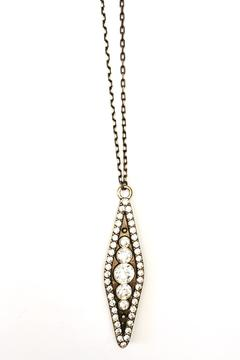 Shoptiques Product: Crystal Studded Necklace