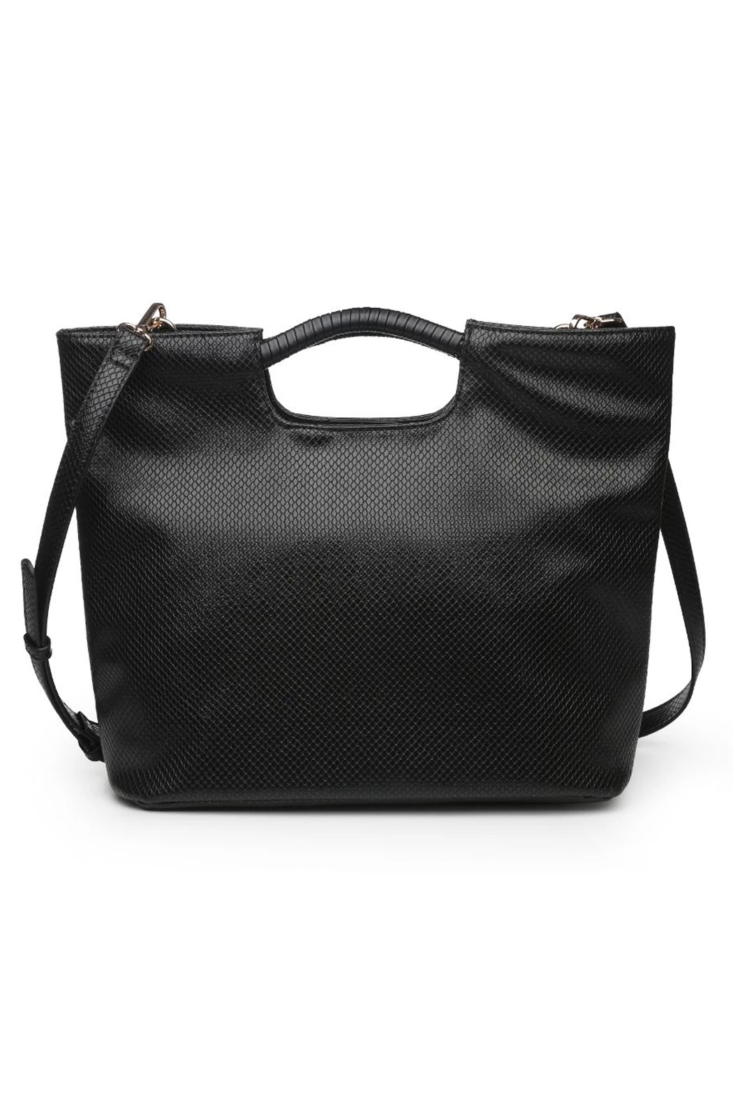 Urban Expressions Silas Vegan Leather Handbag - Front Cropped Image