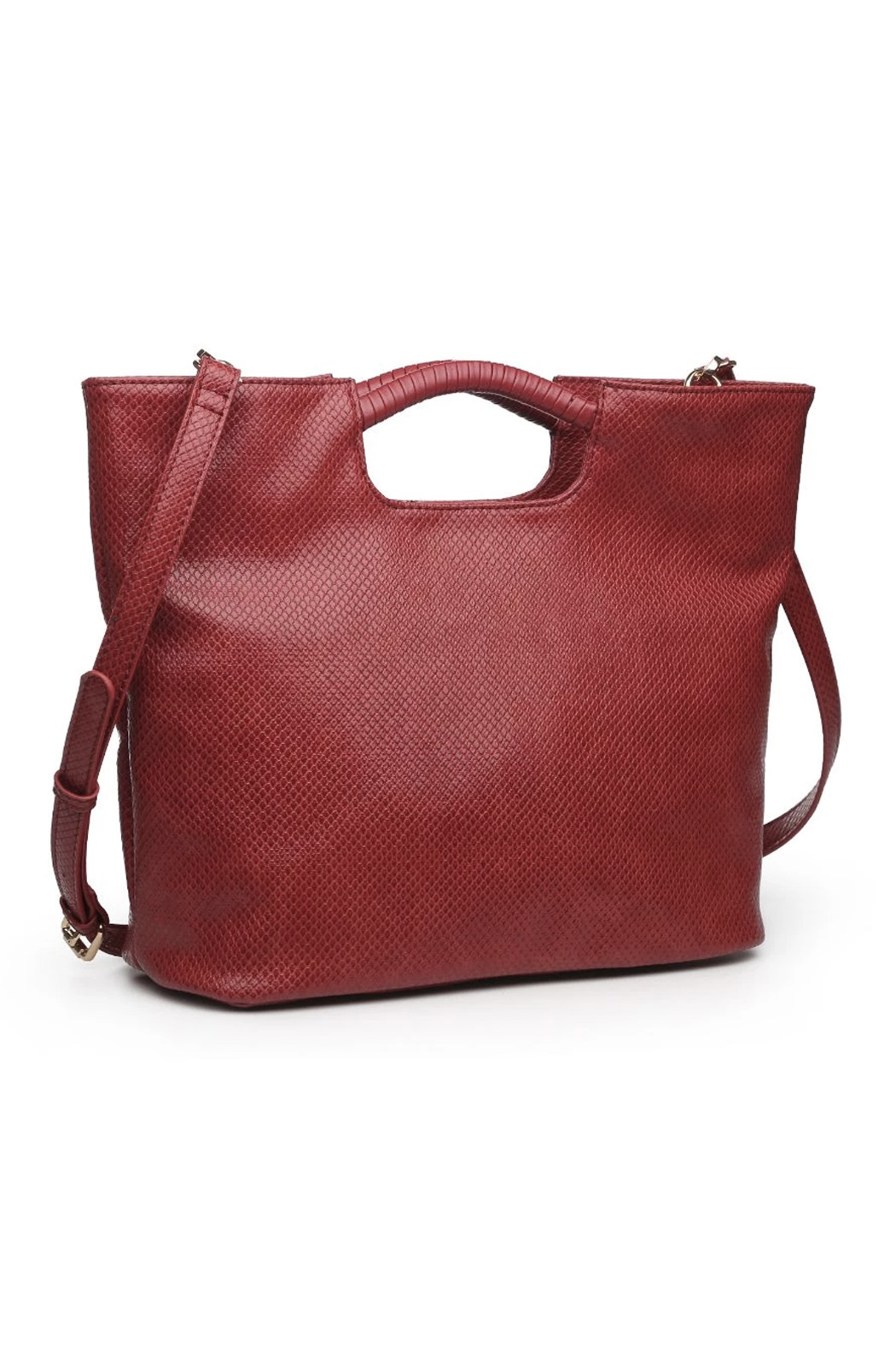 Urban Expressions Silas Vegan Leather Handbag - Front Full Image