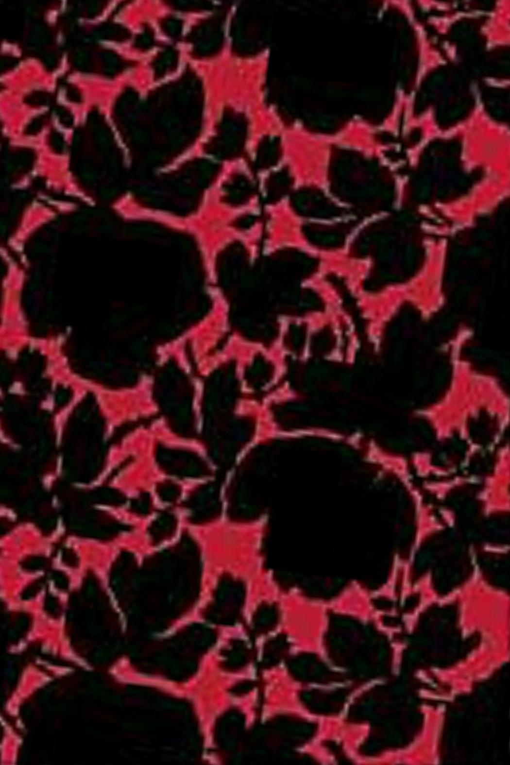Vera Bradley Silhouette Floral Scarf - Front Full Image