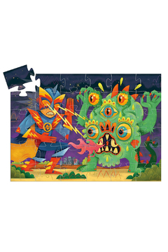 Djeco Silhouette Puzzle Laser Boy 36pcs - Alternate List Image