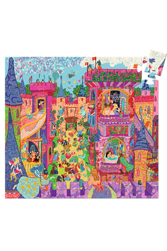Djeco Silhouette Puzzle The Fairy Castle - Product List Image