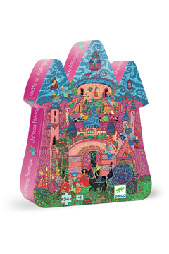 Djeco Silhouette Puzzle The Fairy Castle - Alternate List Image