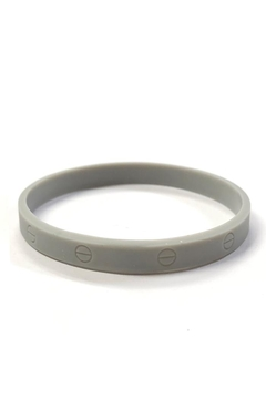 Lets Accessorize Silicone Designer-Inspired Bracelets - Product List Image