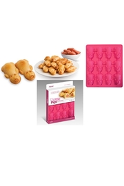 Bekah Kate's (Kitchen, Kids & Home) Silicone Piggie Bakeware - Front cropped