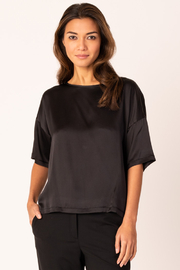 Margaret O'Leary Silk Boxy Tee - Product Mini Image